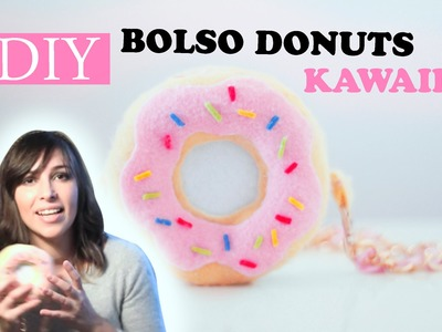 DIY- BOLSO KAWAII DONUTS. ROSQUILLA SIMPSONS - VIDEO - VERONICA❤