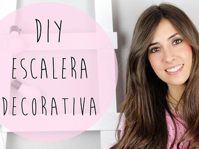 DIY | Escalera decorativa