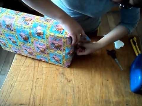 Envoltura de regalo para Baby Shower Pañalera