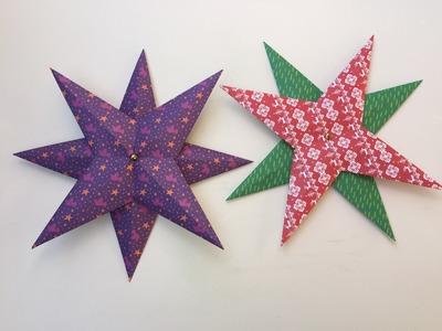 Estrella de Navidad de papel