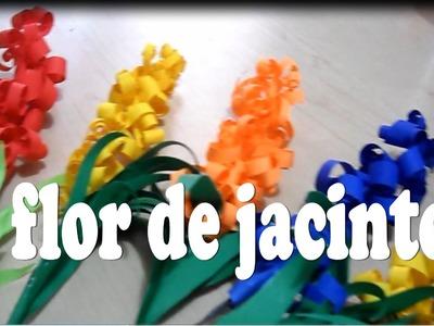 Flores de papel ( JACINTO ) decoracion para el hogar