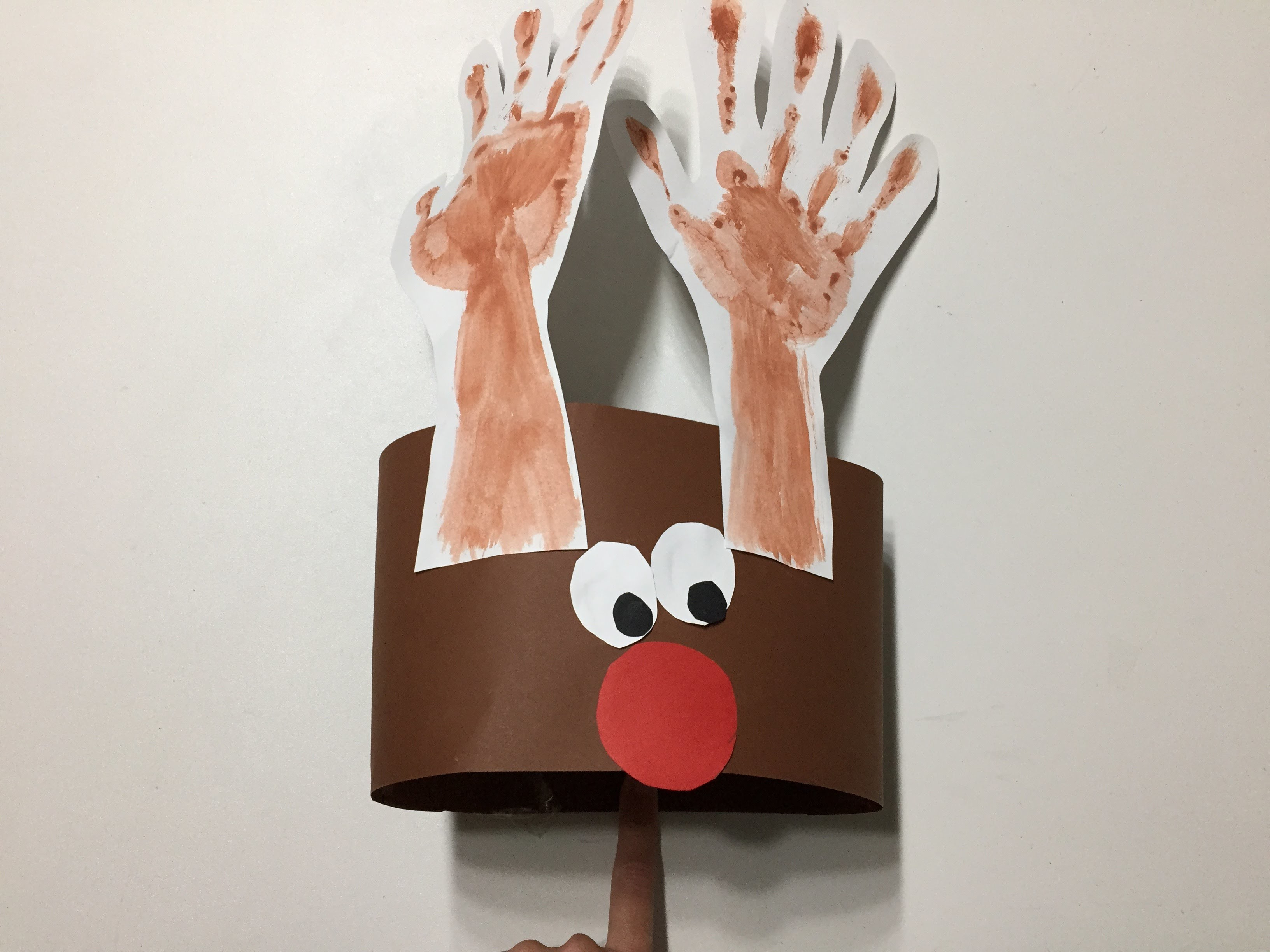 Manualidades Navidad para niños Reno