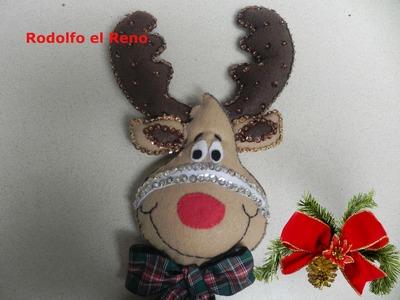 Manualidades para Navidad (Rodolfo el Reno)