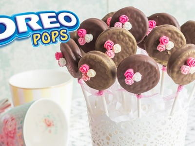 Oreo Pops  | #8 Mesa dulce para Baby Shower | Quiero Cupcakes!
