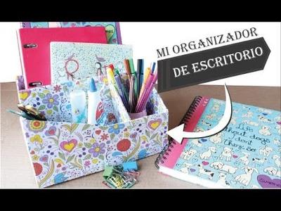 Organizador de Escritorio Reciclado | FÁCIL | Tendón Creativo