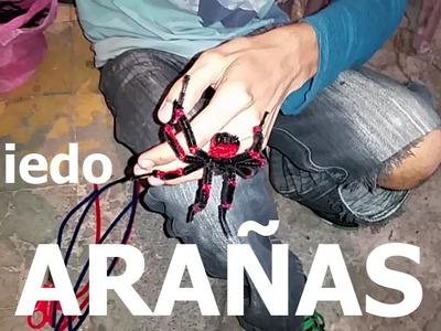 Arañas de manualidad de Luis Antonio