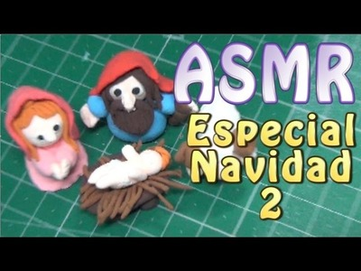 #ASMR español - Modeling Clay Magic Dough. Ram. Carnero.Whispers. Spanish.