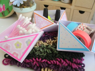 Cajita organizadora + Origami