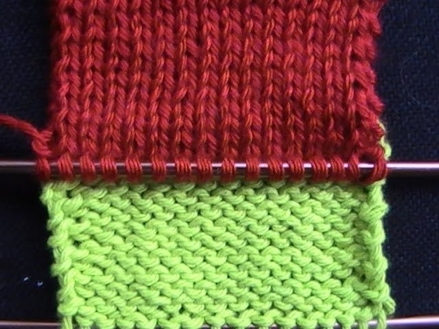 Cómo Aprender a Tejer- How to Knit: Step-by-Step 2 Agujas (330)