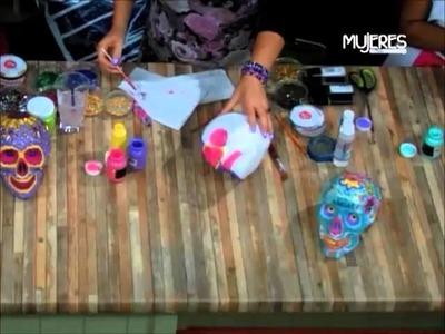Cómo hacer Calaveritas Decoradas (METVC)
