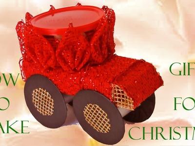 Como hacer regalos para Navidad - How to make gifts for Christmas
