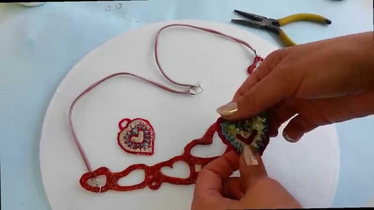 Como hacer un collar de silicona