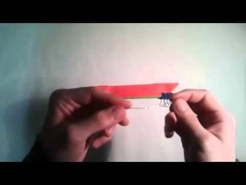 Como hacer una flor de loto origami  [Origami - Papiroflexia]