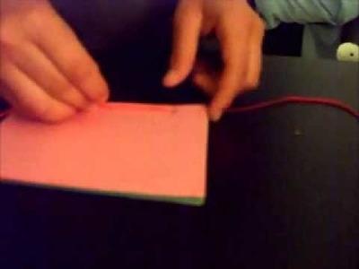 Cuadernito de hojas de colores