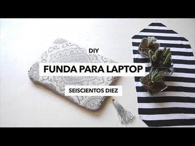 DIY FUNDA PARA LAPTOP ♡
