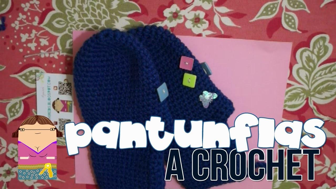 DIY Pantunflas a Crochet