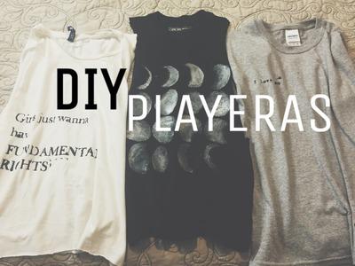 DIY Rediseña tus playeras ♥