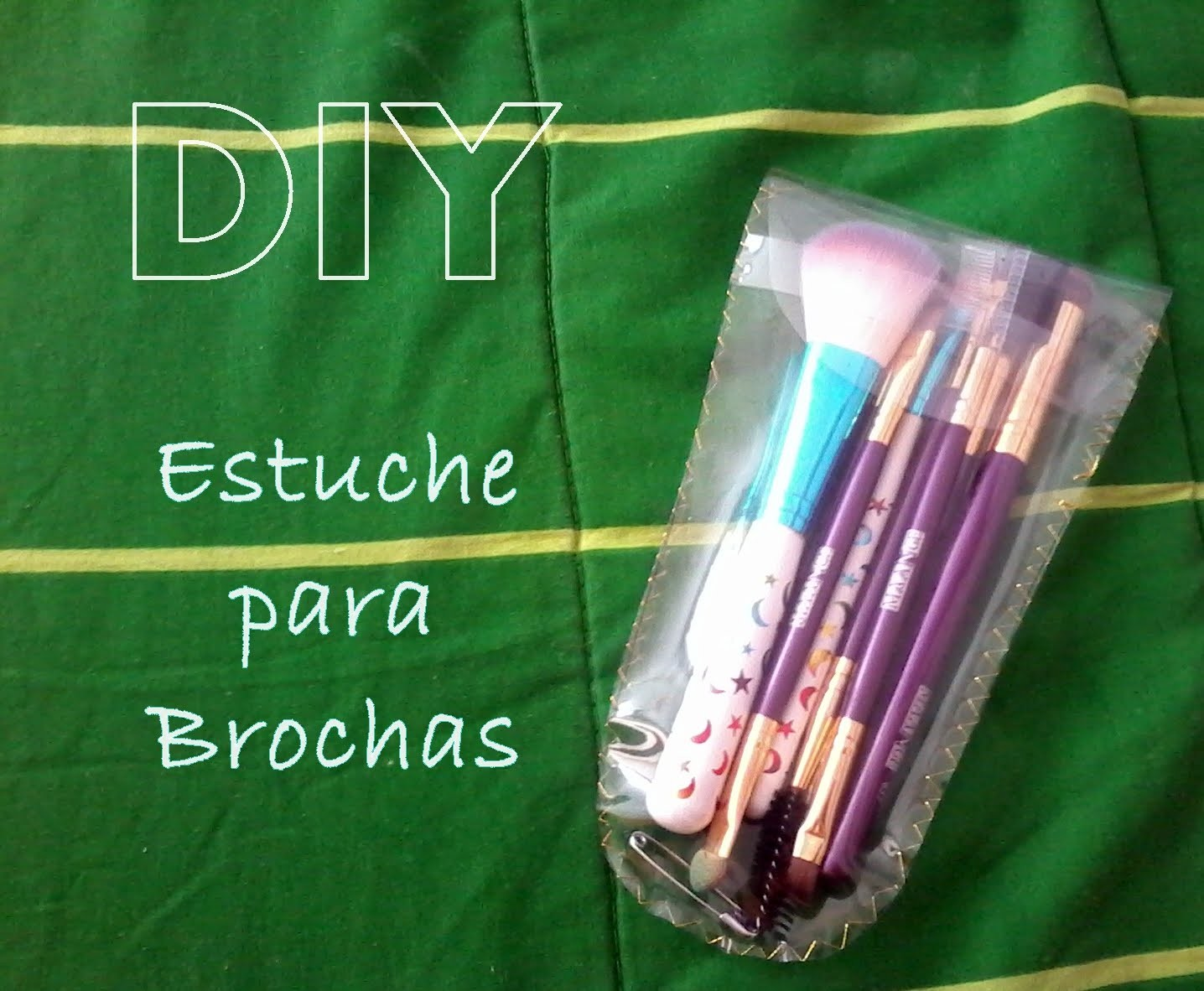 DIY Simple estuche para Brochas
