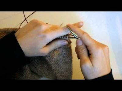 MAGIC LOOP: Sustituir agujas de doble punta por circulares