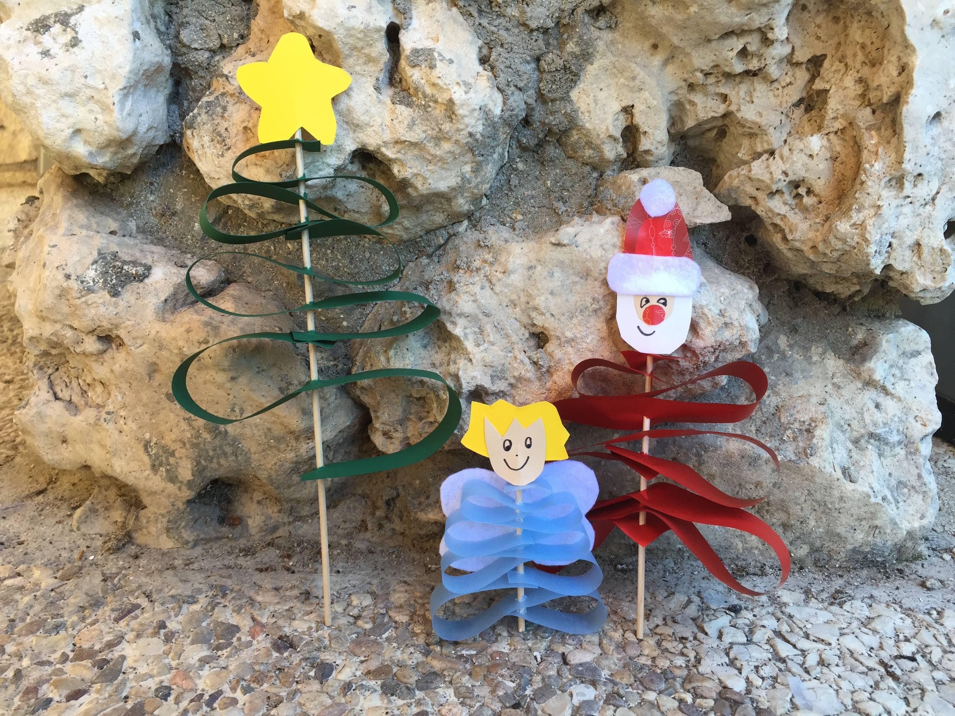 Manualidades niños Navidad