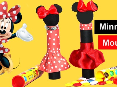 Minnie mouse con chuches. Tube favors