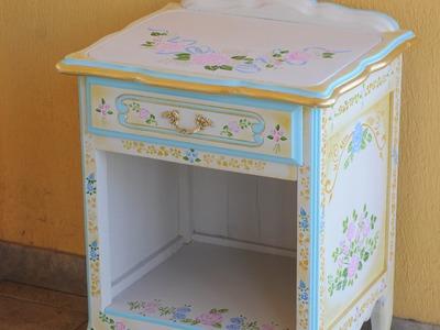 Mueble Vintage - Como Renovar Muebles - Stenciles -