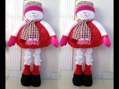 Muñeco de nieve Parado Gigante 1.13cm