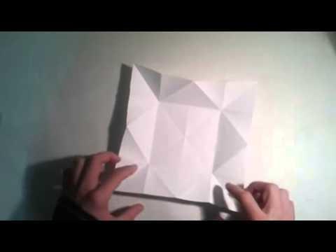 Origami para principiantes  #6 Como hacer una pajarita de papel  [Origami - Papiroflexia]