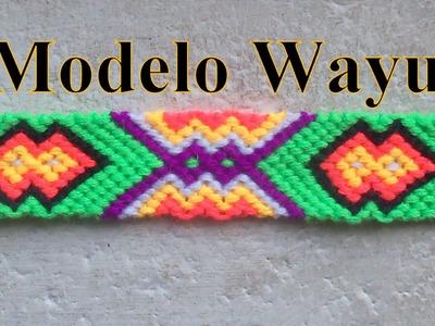 Pulsera de Hilo: Modelo Wayu