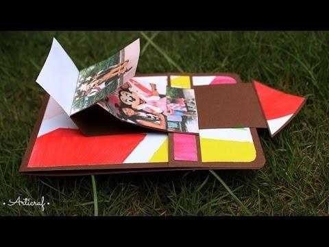 Tarjeta Cascada | Card Making