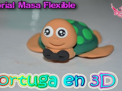 ♥ Tutorial: Tortuga de Masa Flexible ♥