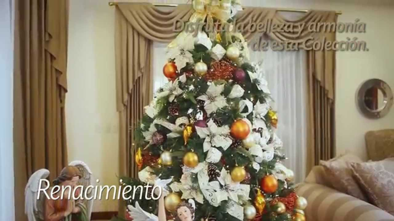 Arma tu Árbol - Estilo Renacimiento. Catálogo Navidad Alrededor del Mundo 2015
