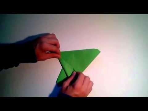 Como hacer un avión de papel F 14 Tomcat   [Origami - Papiroflexia]