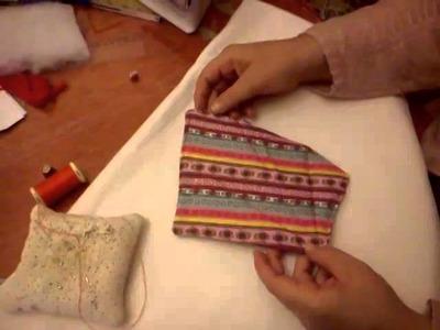 Como hacer una funda de tijera