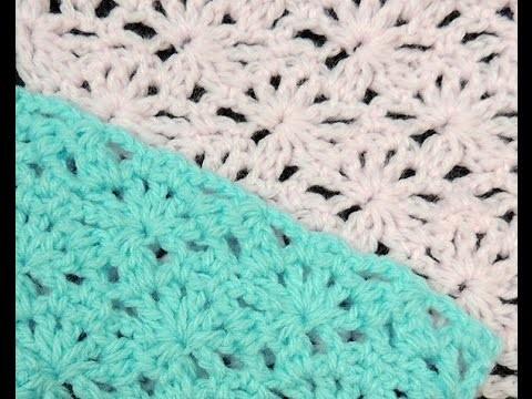Crochet : Punto Soles, Lineal