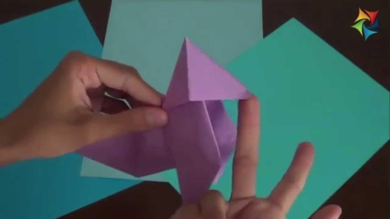 Curso de Papiroflexia [Origami] Cómo hacer una pajarita de papel