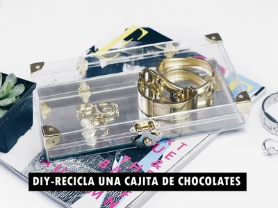 DIY-RECICLA UNA CAJA DE CHOCOLATES