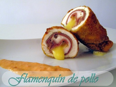 FLAMENQUÍN DE POLLO