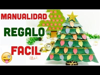 Manualidades para navidad\árbol(pinito) de navidad:Caja o decoración