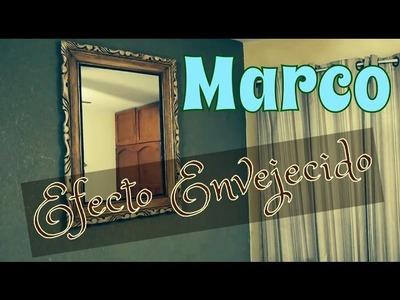 Marco Efecto Vintage-Antiguo-Envejecido DIY