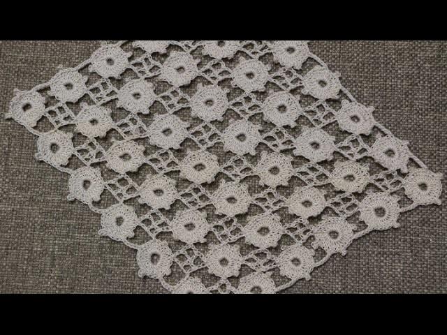 Tejido en Circulos Crochet parte 1 de 2