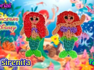 ♥ Tutorial: La Sirenita Ariel [Princesas Disney] (sin telar) ♥