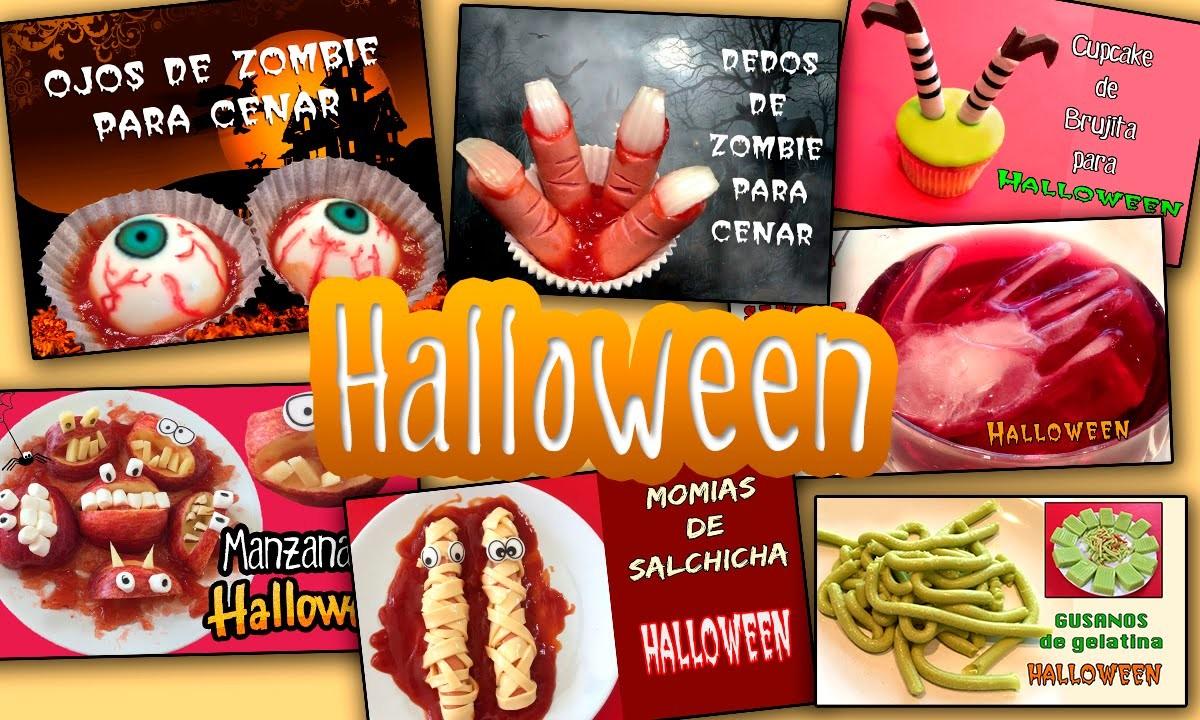 7 recetas terroríficas para HALLOWEEN