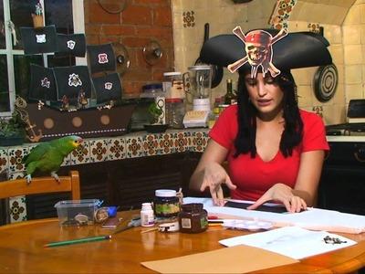 Barco pirata para fiesta infantil 1 de 5