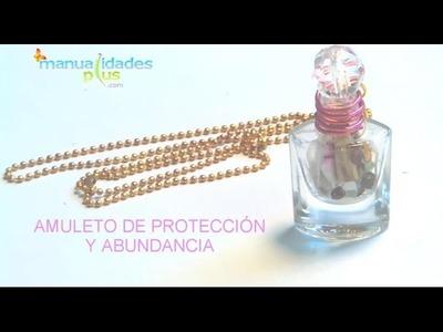 Como hacer un Amuleto para atraer dinero y amor con Frasquitos de esmalte para uñas