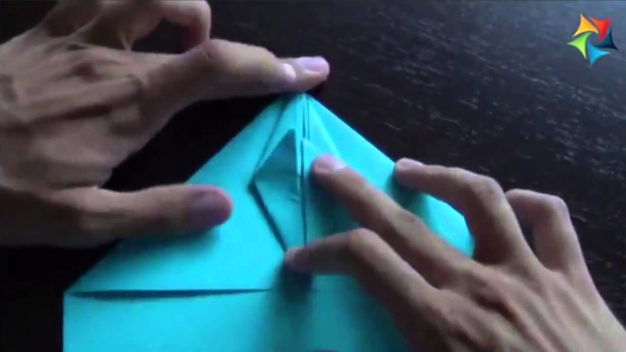 Curso de Papiroflexia [Origami] Cómo hacer un avión de papel
