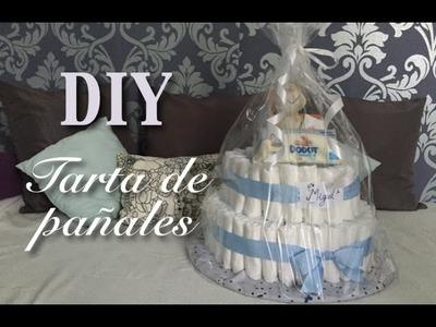 DIY: Tarta de pañales