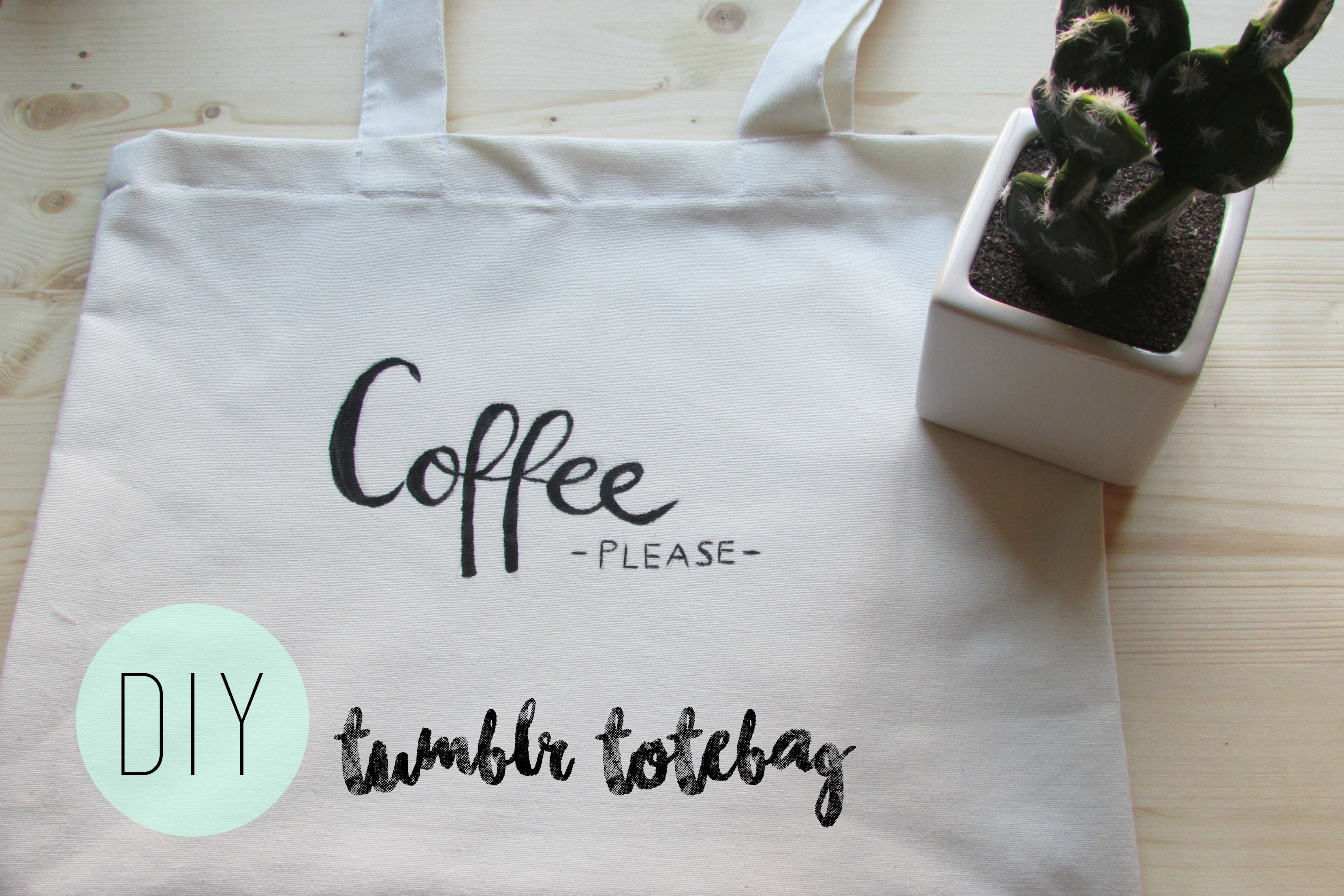 DIY  Tumblr Totebag | TheMariona26