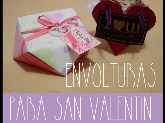 ENVOLTURAS DE SAN VALENTIN DIY - PP ARTS