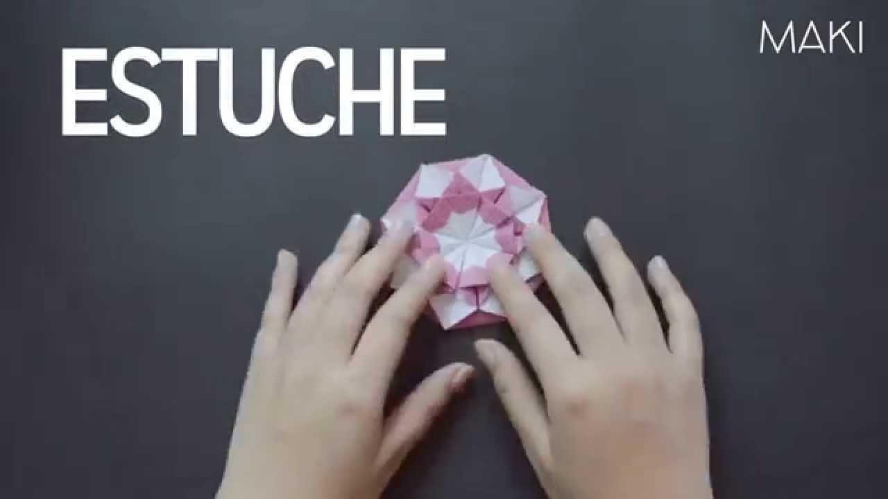 Estuche para Cd (origami) - DIY